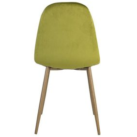 Charlton Chair - Velvet Lime
