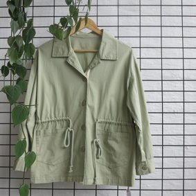 Jacket with draw Cord