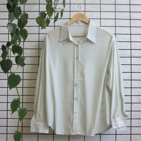 Basic LSleeve Collar Shirt