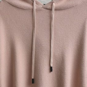 Hooded knit Jersey