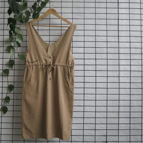 Wide Strap Funky Dress